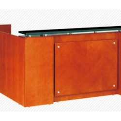 A002 Reception Station with Granite Top - Office Furniture Vaughan, Mississauga