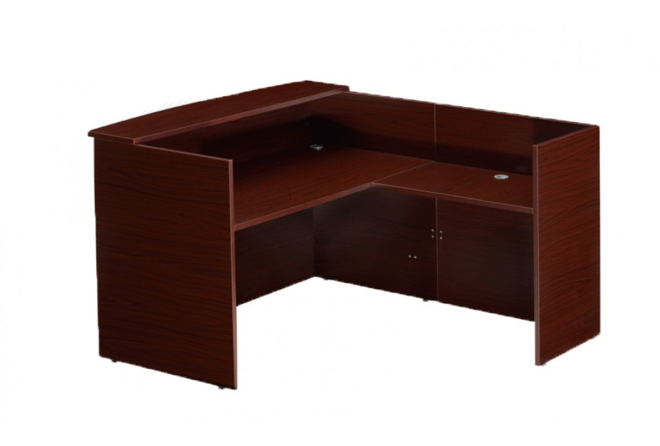 WSO Practical Reception Desk - Office Furniture Vaughan, Mississauga